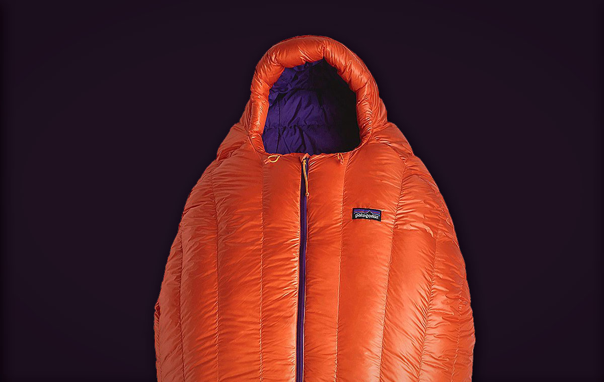 Patagonia 850 Down Sleeping Bag LumberJac