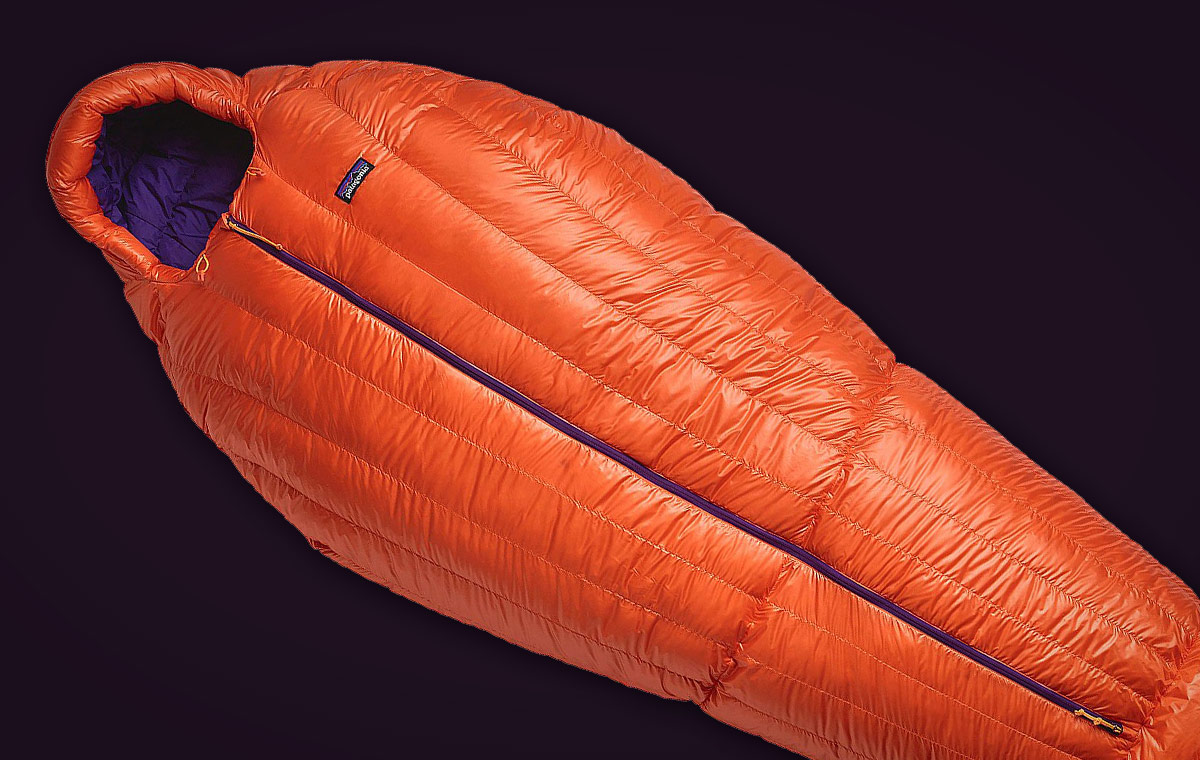 Patagonia 850 Down Sleeping Bag LumberJac