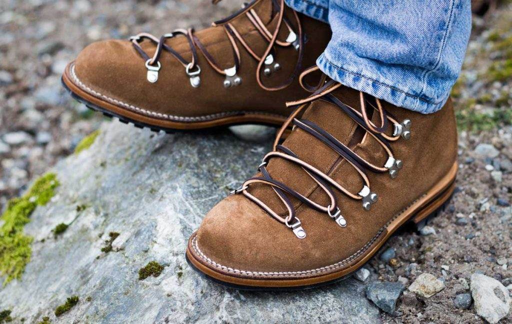 Viberg Suede Hikers