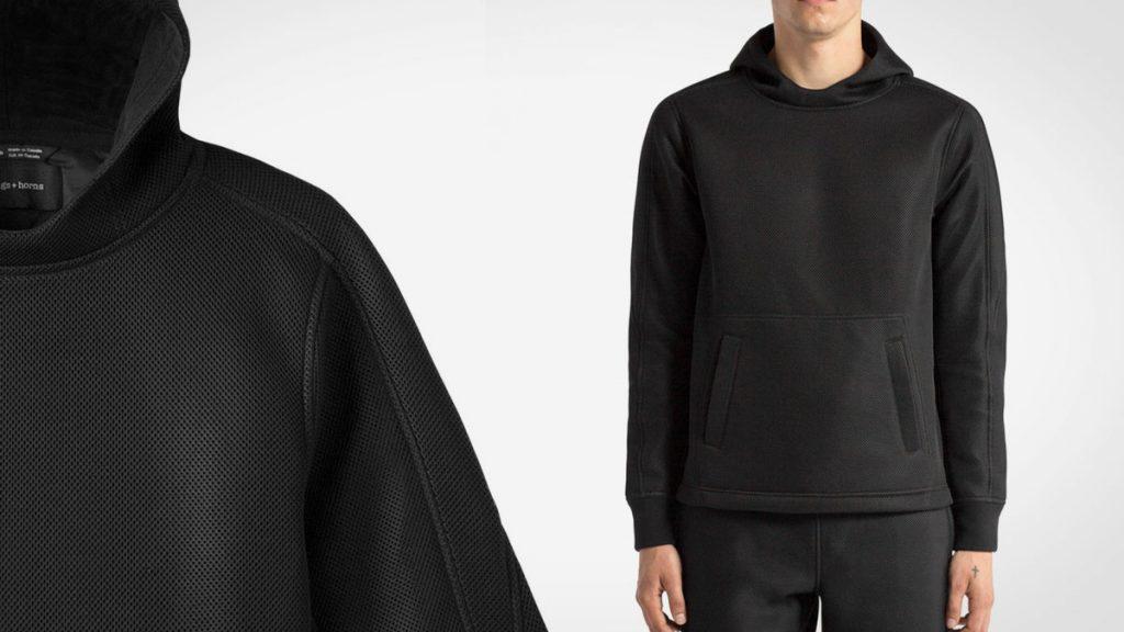 Dimension Mesh Hooded Pullover LumberJac