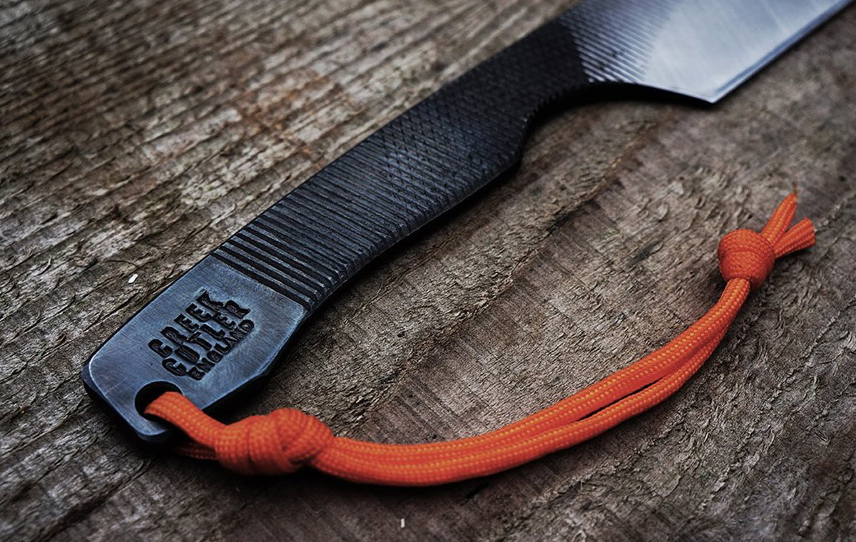 Re-purposed File Knives LumberJac