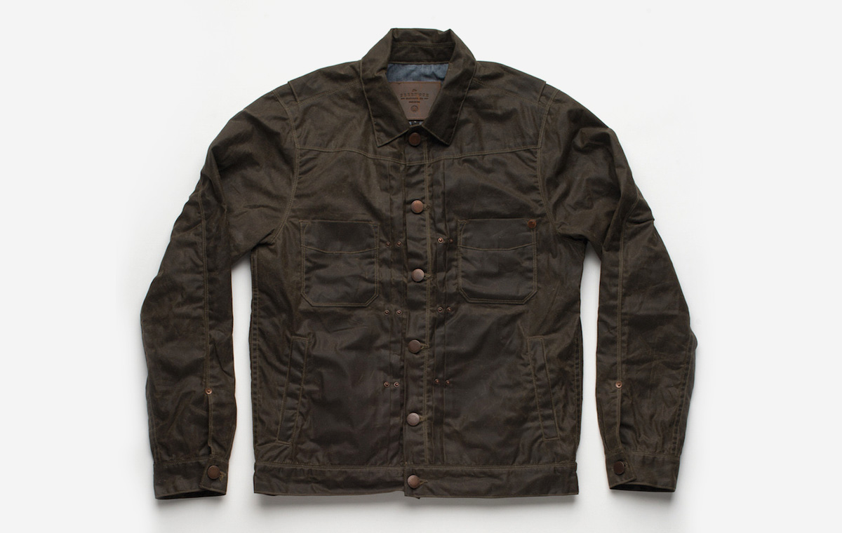 Waxed Riders Jacket LumberJac