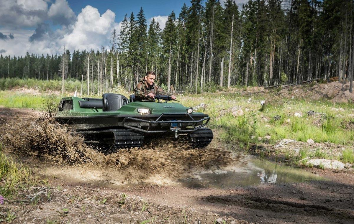 Tinger Track ATV LumberJac