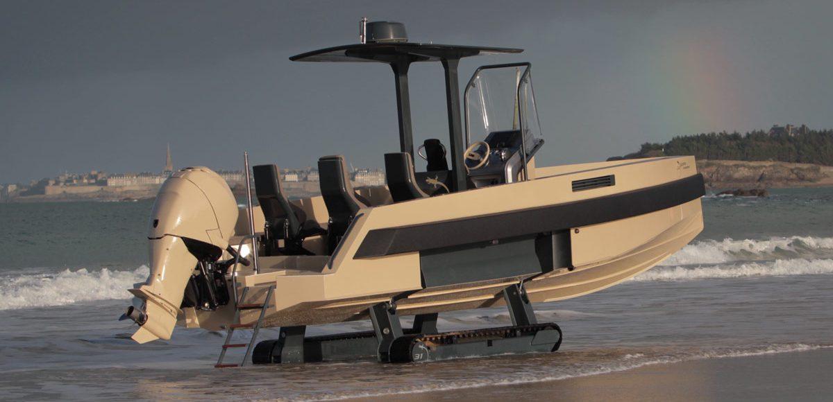 Iguana 29 Amphibious Yacht LumberJac