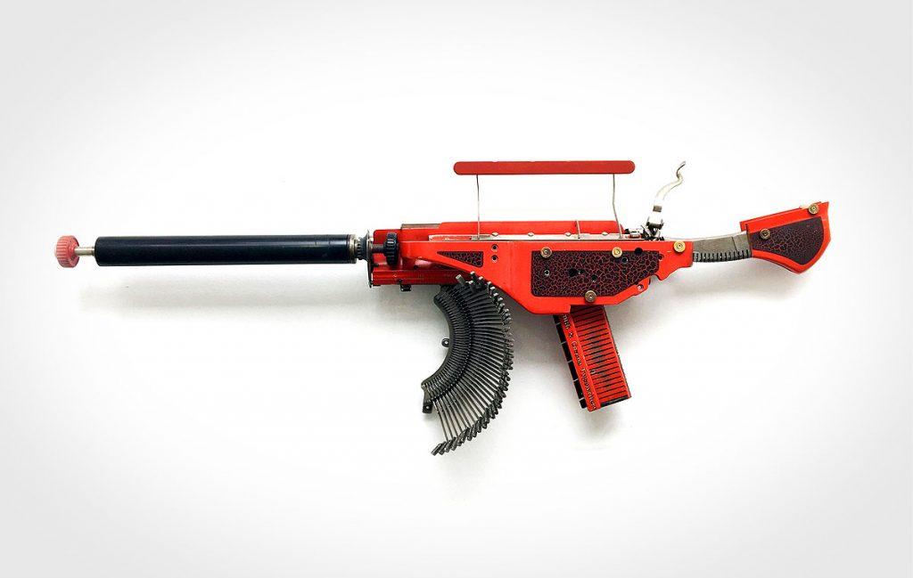 Eric Nado Typewriter Guns