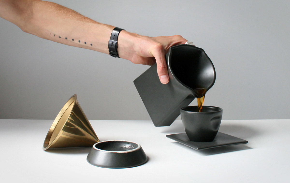 Press Pour Over Brewer LumberJac