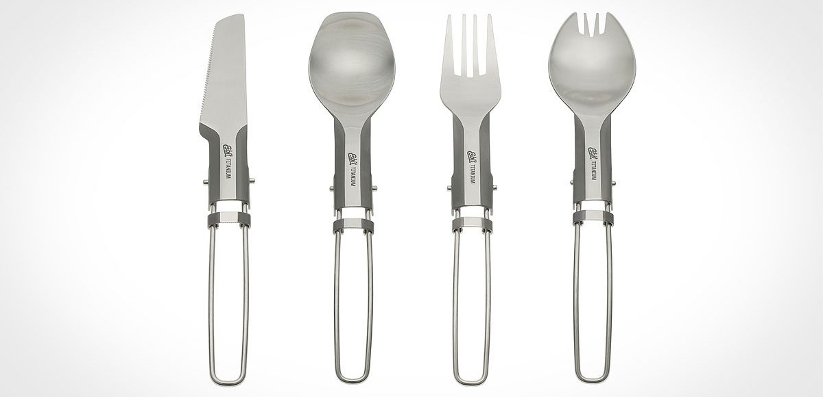 Esbit Titanium Folding Utensils