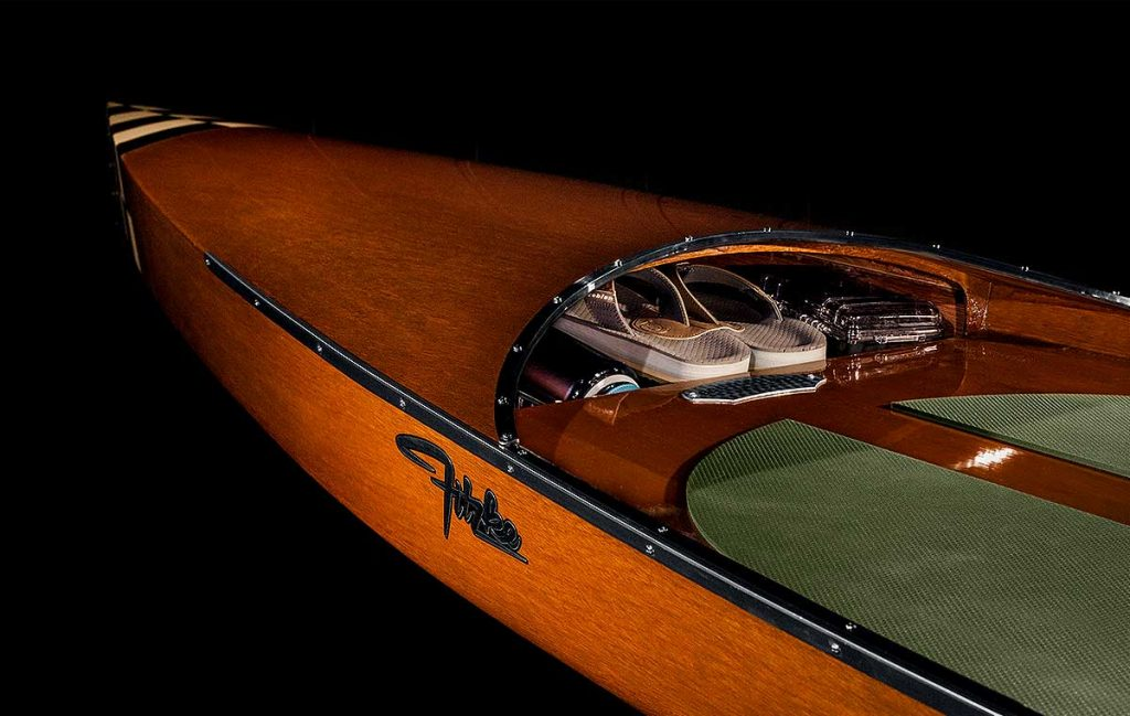 Fitzke Wood Paddleboard