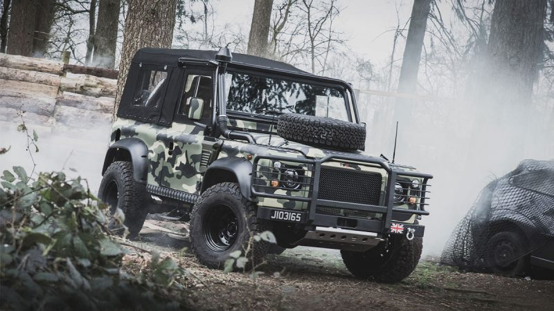 The Tweaked Land Rover Military Edition LumberJac