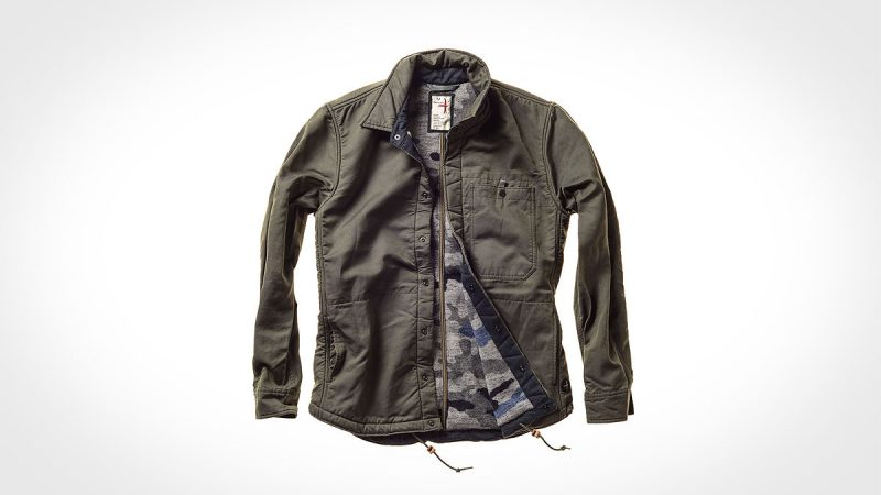 Relwen Waxed Snap CPO Jacket