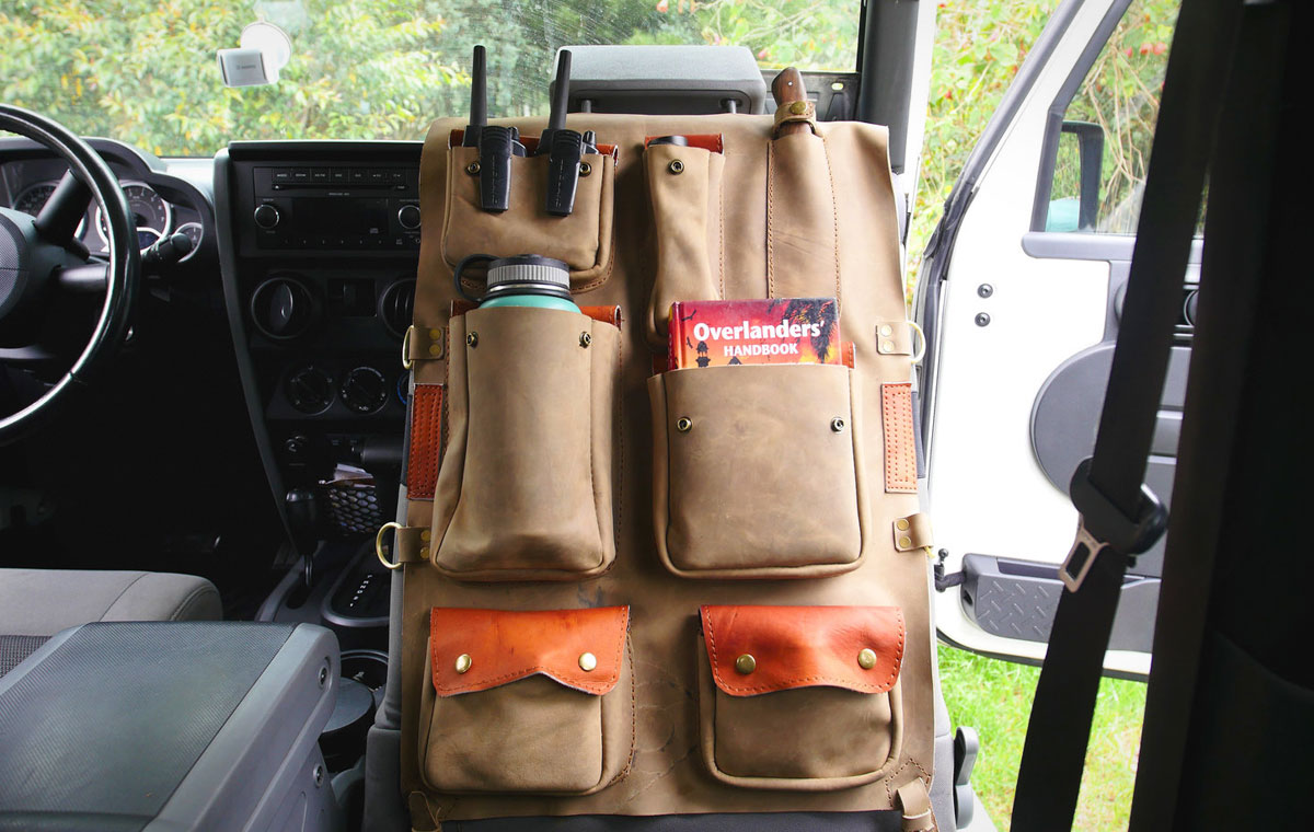 Ketzal Bags Seat-backOrganizer LumberJac