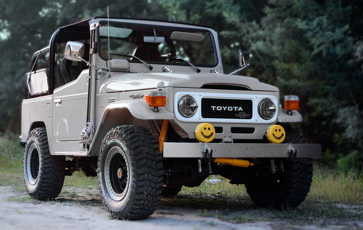 Legacy Overland Toyota Land Cruiser FJ40 LumberJac
