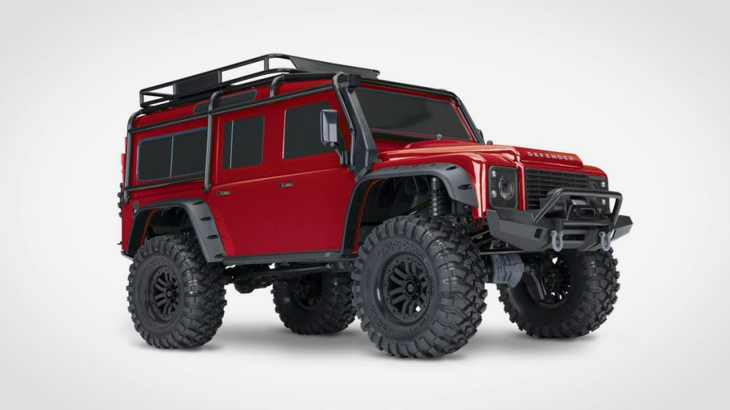 Traxxas TRX-4 Scale and Trail Crawler LumberJac