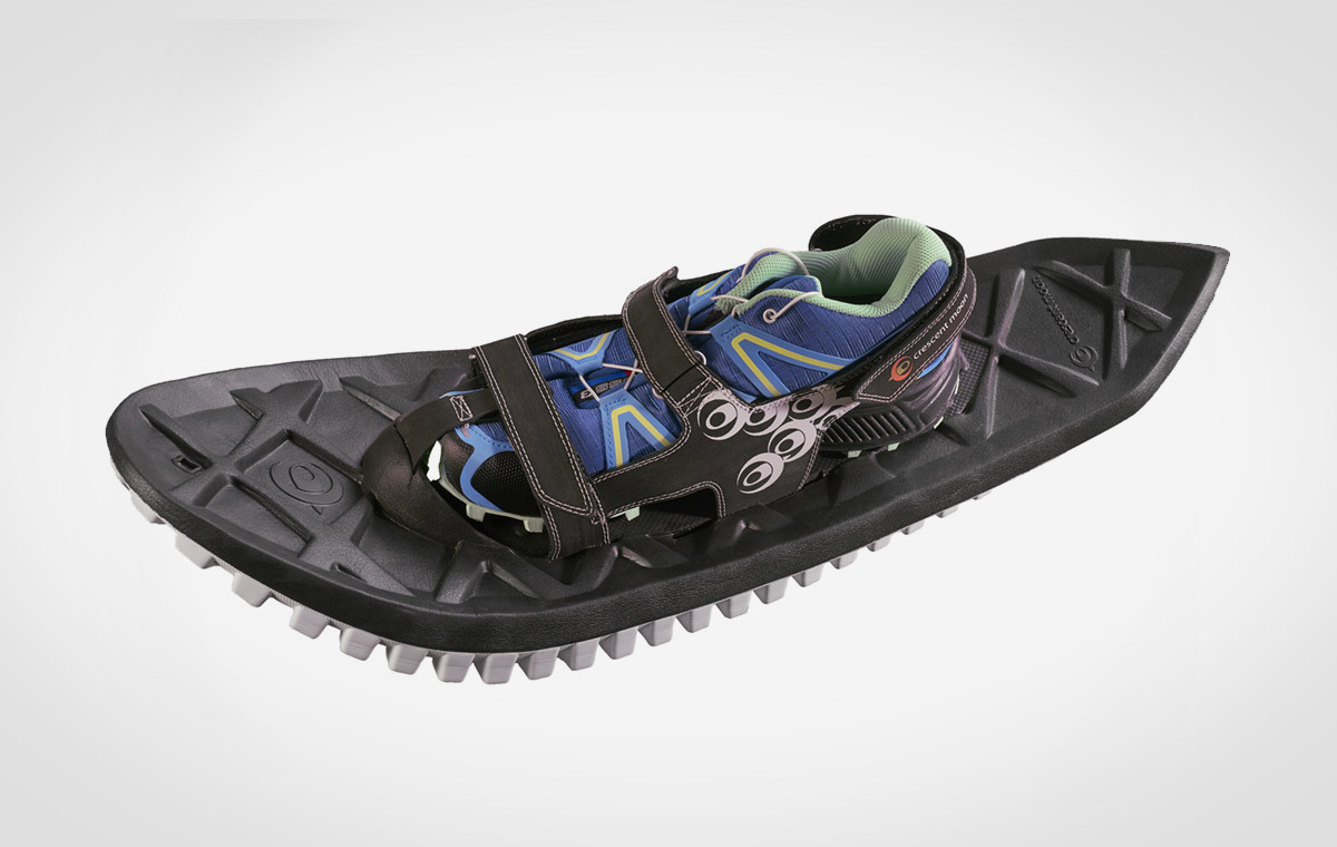 Crescent Moon Eva All-Foam Snowshoes Lumberjac