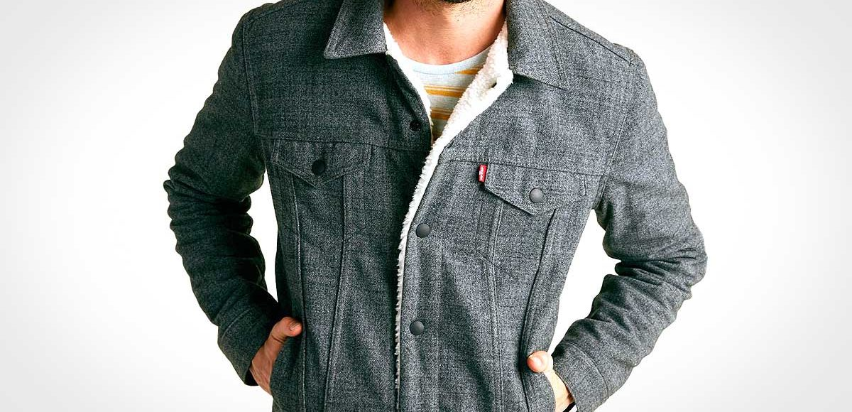 Levi's x Outerknown Wellthread Sherpa Trucker Jacket