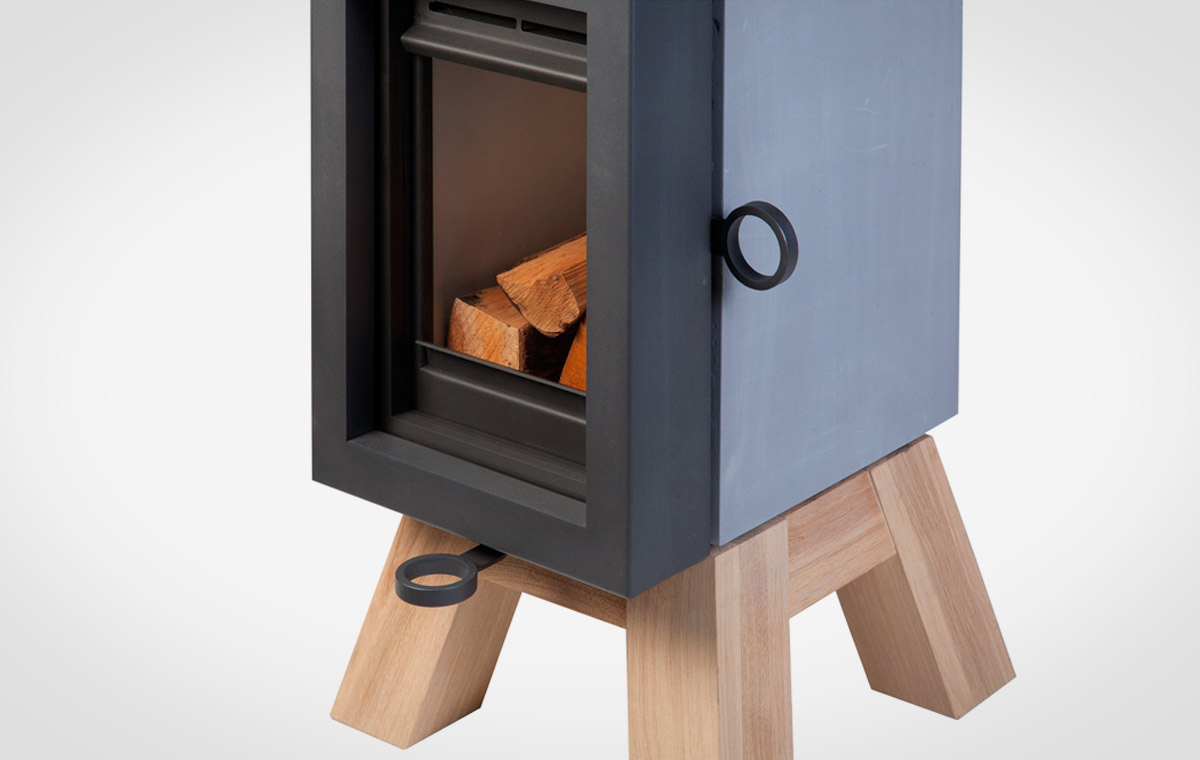 Wanders Oak Wood Burning Stove Lumberjac
