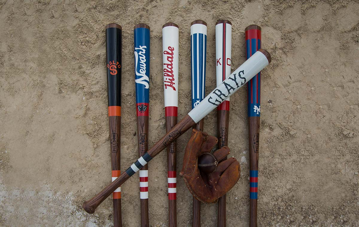Negro League Baseball Bat collection LumberJac