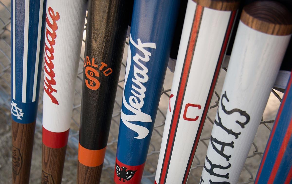 Negro League Baseball Bat collection LumberJac