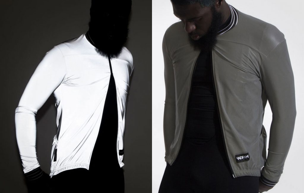 God and Famous Faux Pas Reflective Jacket