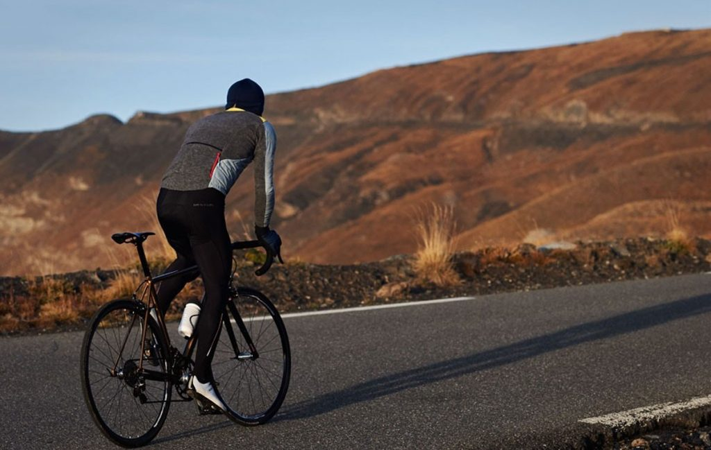 Albertine Down Cycling Jacket by Cafe Du Cycliste