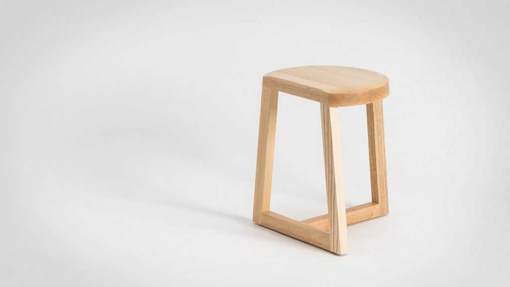 Litil Oyster Stool