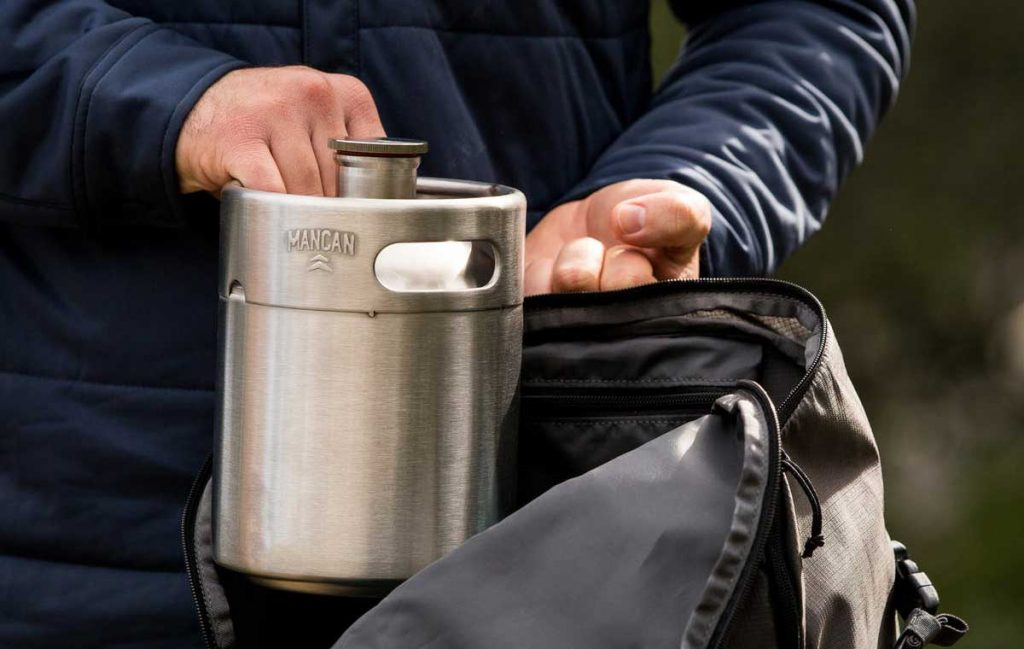 ManCan Grab 'N Go Growler