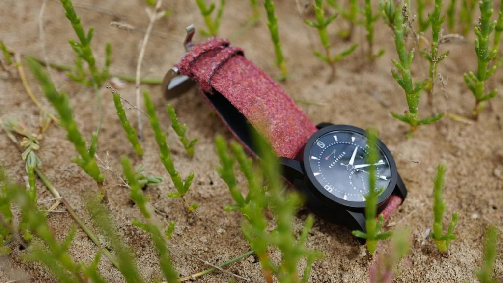 Schofield Old Pink Tweed Watch Strap LumberJac