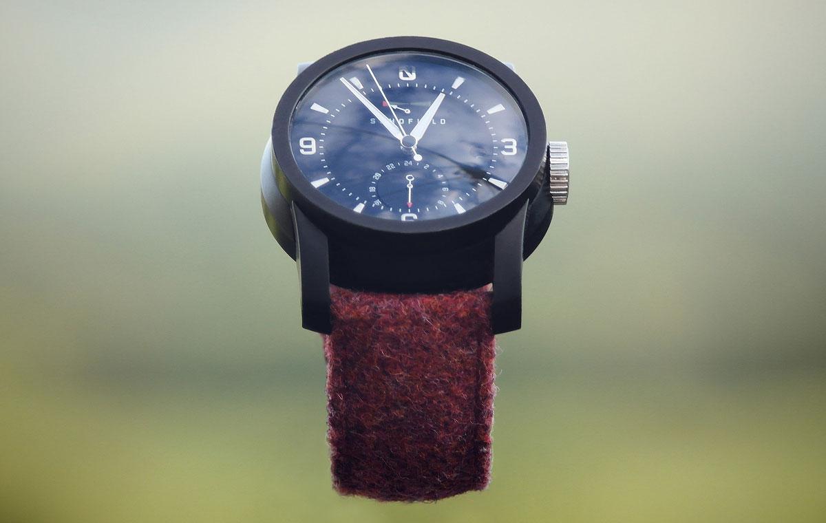 Schofield Old Pink Tweed Watch Strap LumberJac