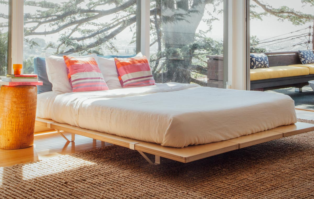 The Floyd Platform Bed LumberJac