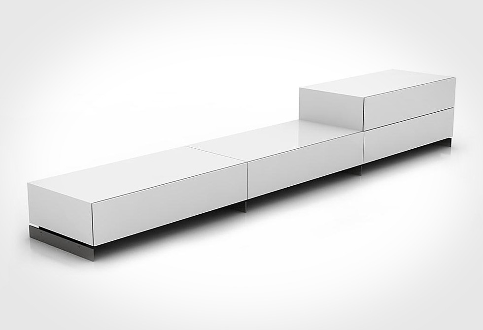 Brix Modular Stacking Drawer by Bensen