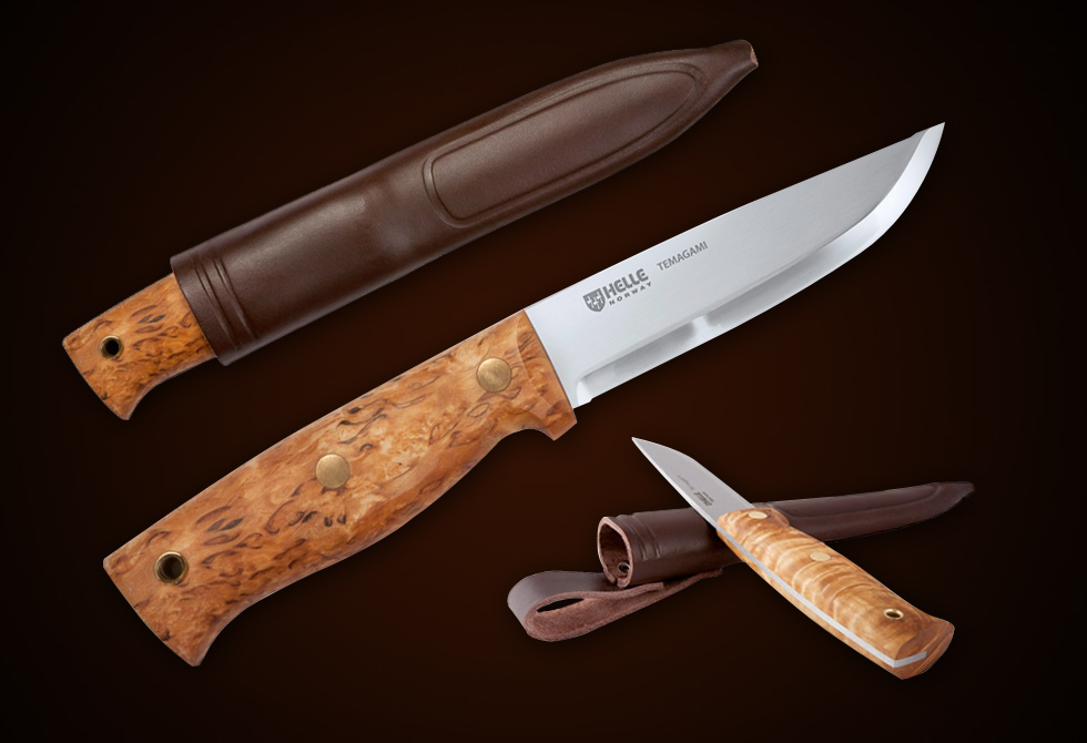 Temagami Knive by Helle