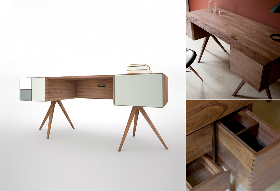 Incunabular Desk by Invisible City