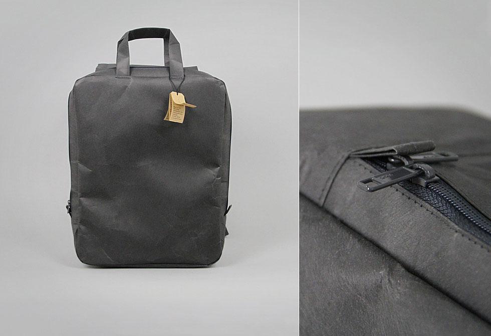 SIWA Square Paper backpack designed by Naoto Fukasawa