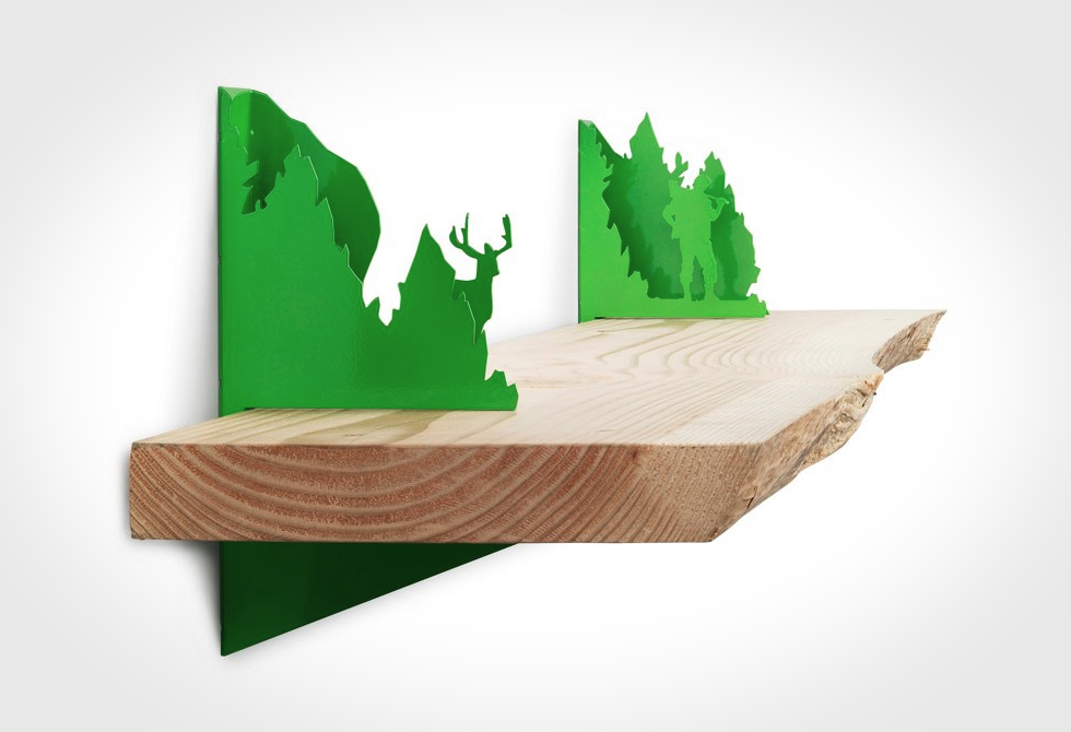 Lumberjack Shelf