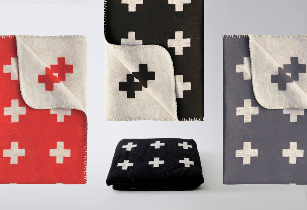 Cross Blanket by Pia Wallen