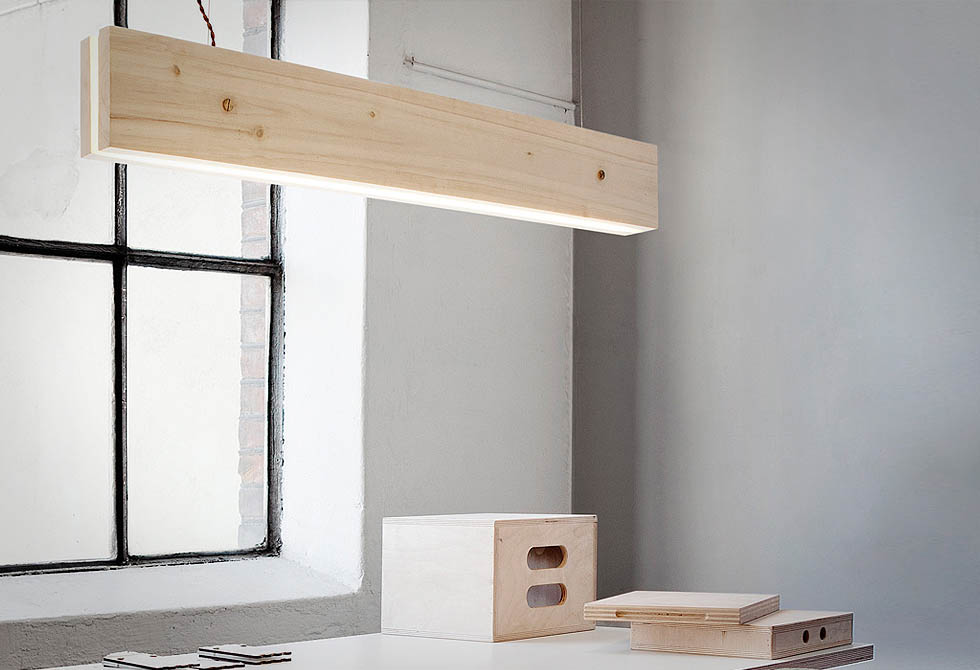 Northern Lighting Plank Suspension Light