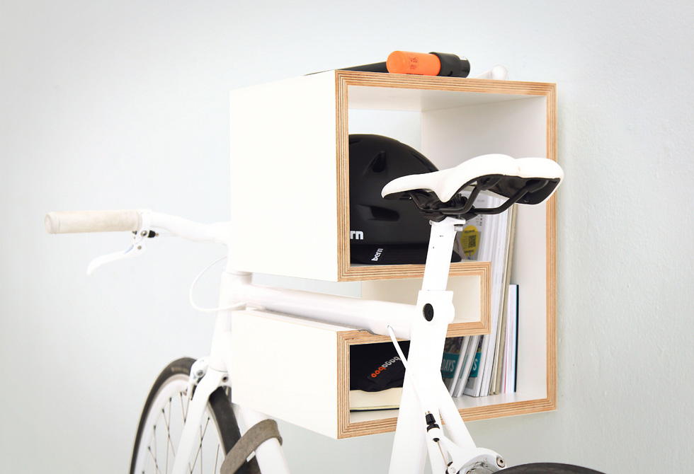 Kappo Birch-veneer Bike Mount