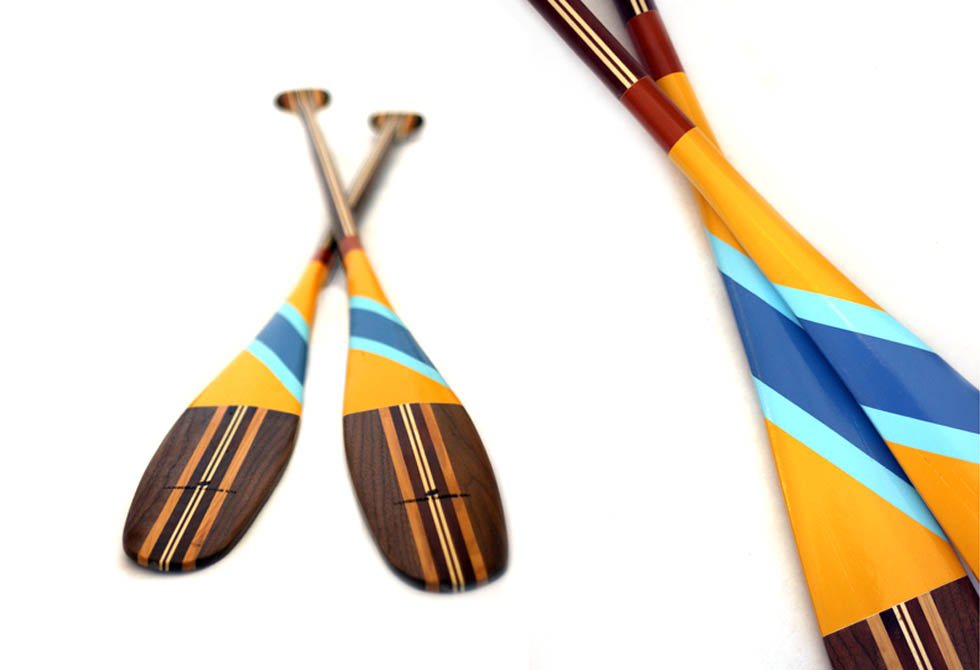 how to draw a canoe paddle