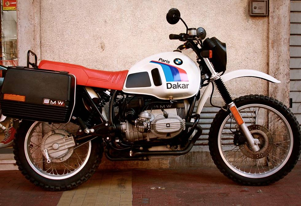 BMW R80GS Dakar Edition Motorbike