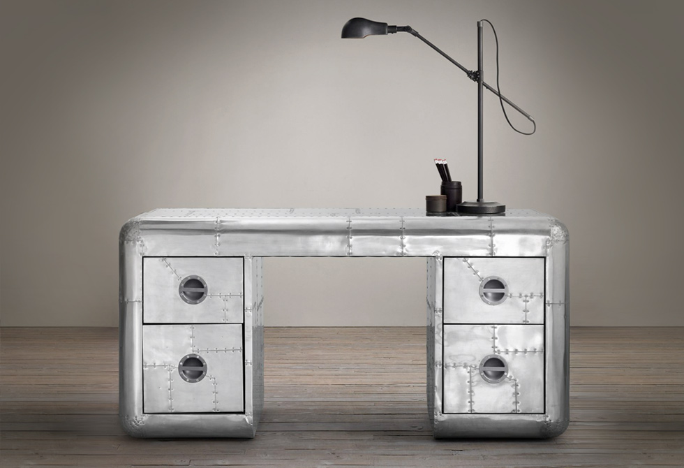 "61"" Blackhawk Trunk Desk"