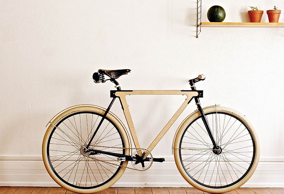 Wood B wooden bike