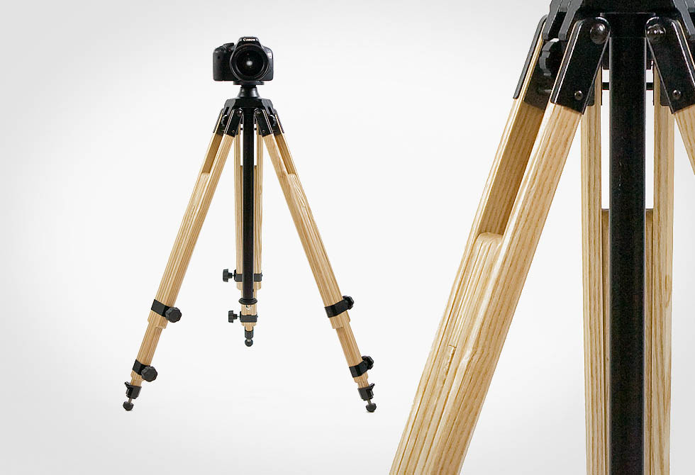 Expedition Wooden Tripod - lumberjac.com
