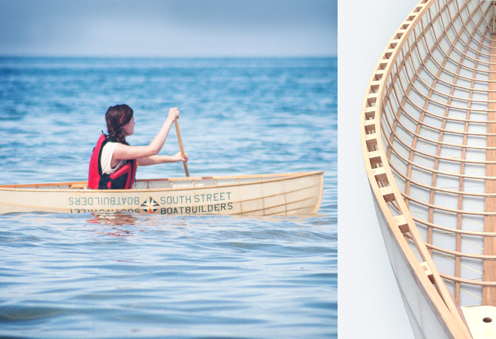 Mary-8 Ultralight Canoe South-Street-Boat-Builders-LumberJac