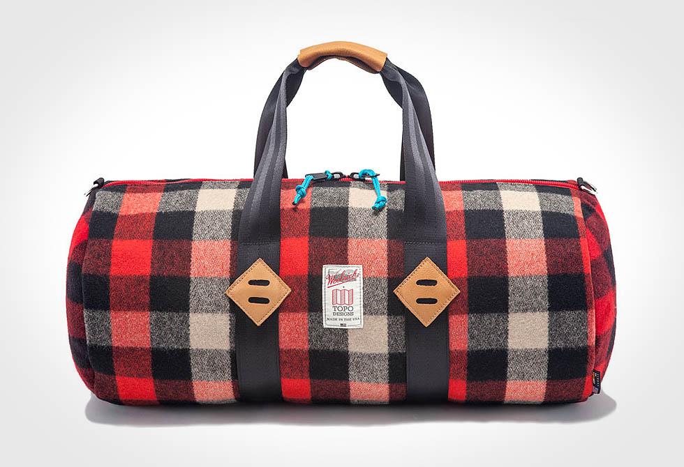 TOPO and Woolrich Duffel Bag - LumberJac