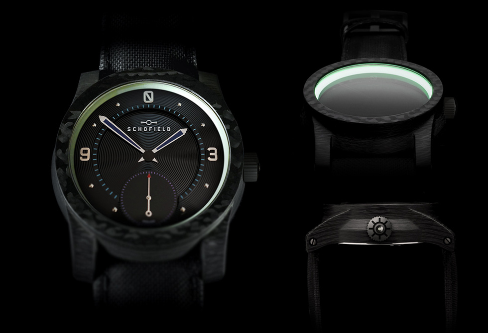 Blacklamp Carbon Watch - LumberJac