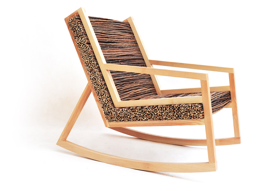 Haluz Rocking Chair - LumberJac