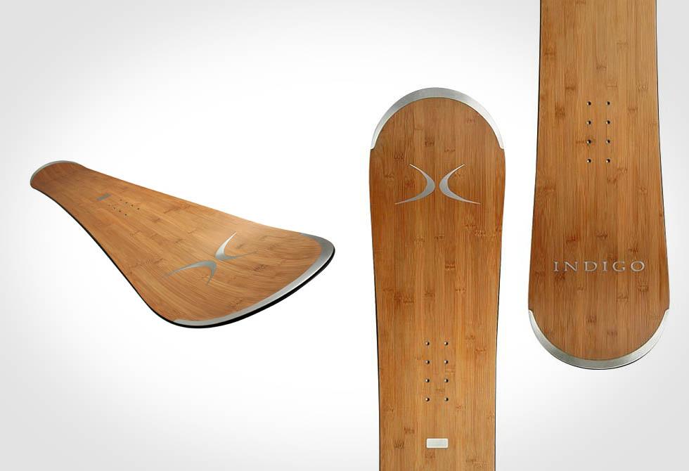Indigo Bamboo Snowboard - LumberJac