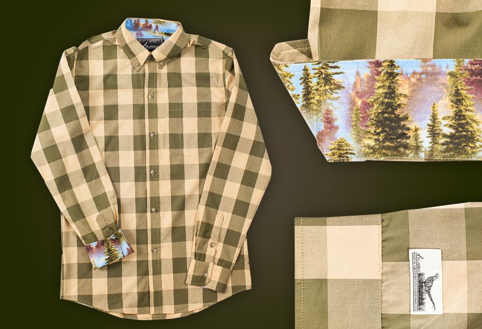 Pladra Murph Shirt - LumberJac