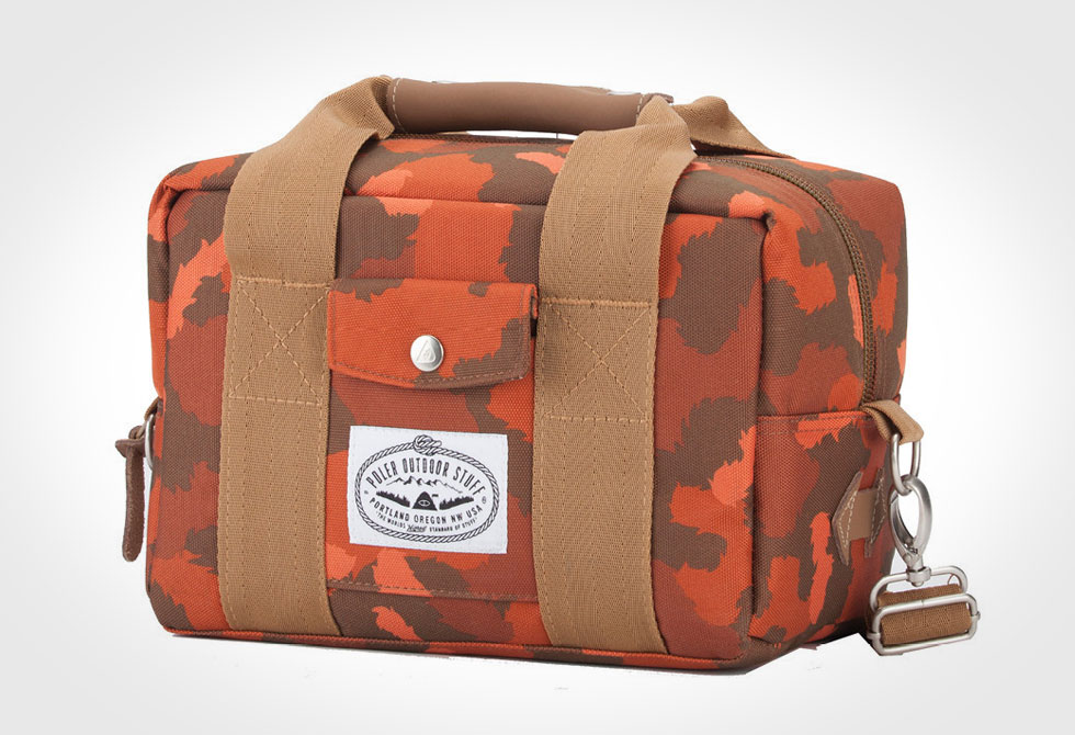 Poler Camera Cooler Bag - LumberJac