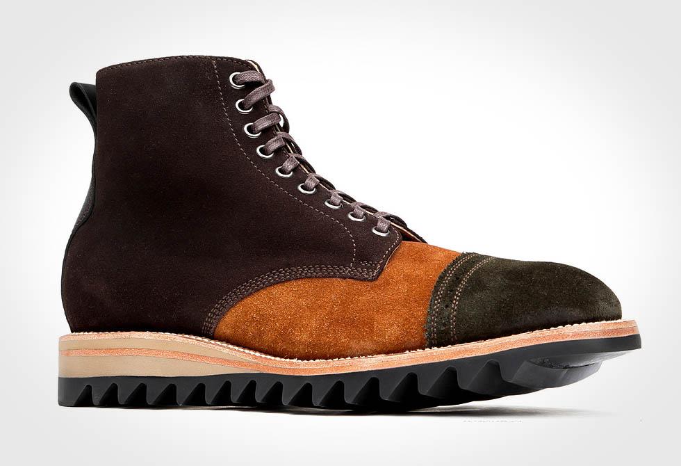 Yuketen Steve Toe-cap Boots - LumberJac